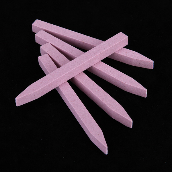 10Pcs Nail Art Stone Sanding File Buffer Pedicure Tool