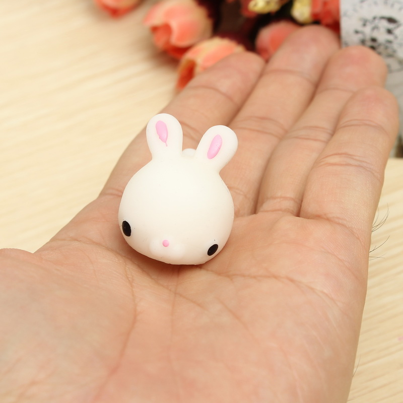 Squishy Toys Review : Mochi Bunny Rabbit Squishy Squeeze Cute Healing Toy Kawaii Collection Stress Reliever Gift Decor ...