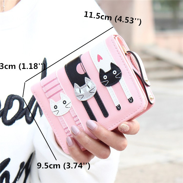 Cat Short Wallet