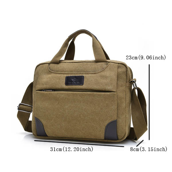 Men Women, Retro Canvas Multifunctional, Outdoor Crossbody Bag Handbag