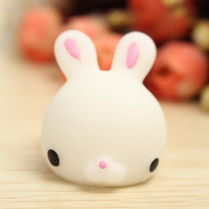 mochi bunny rabbit squishy squeeze cute healing toy kawaii