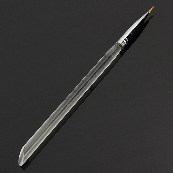 Acrylic Crystal Transparent Nail Art Painting Drawing Pen Brush
