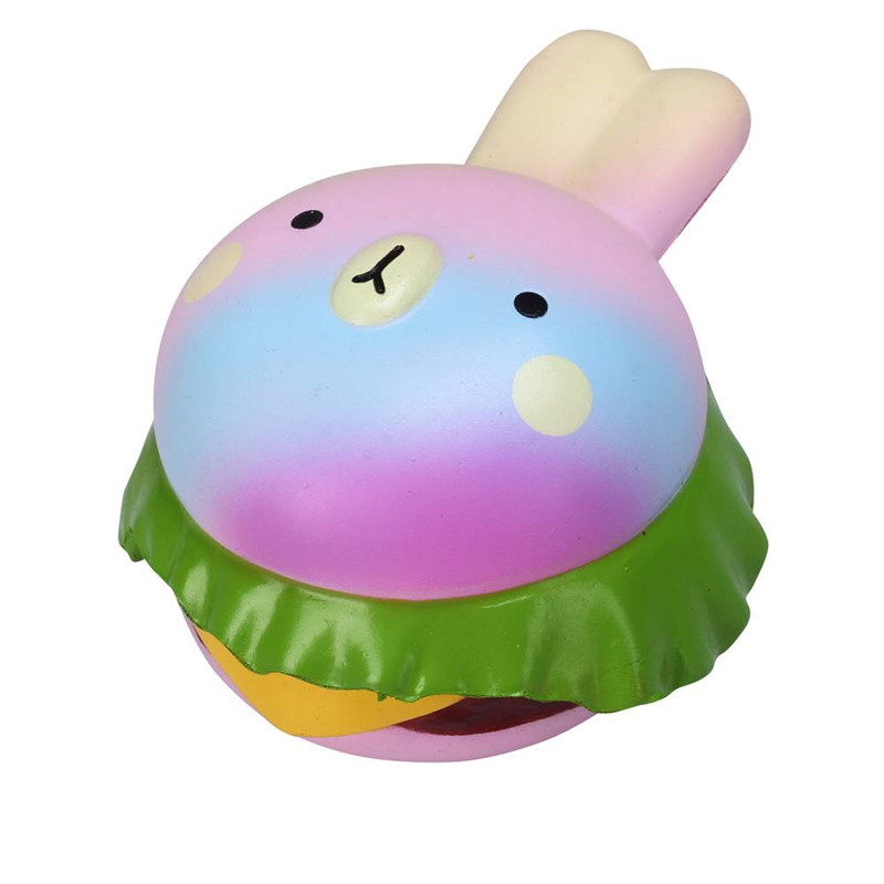 Squishy Bunny : Vlampo Squishy Rabbit Hamburger Bunny Slow Rising Original Packaging Burger Collection Gift ...