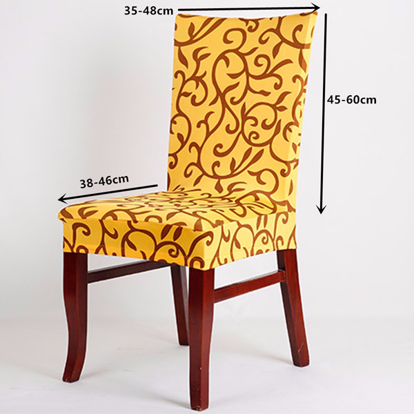 Elegant Spandex Elastic Stretch Chair Seat Cover Computer Dining Room Wedding