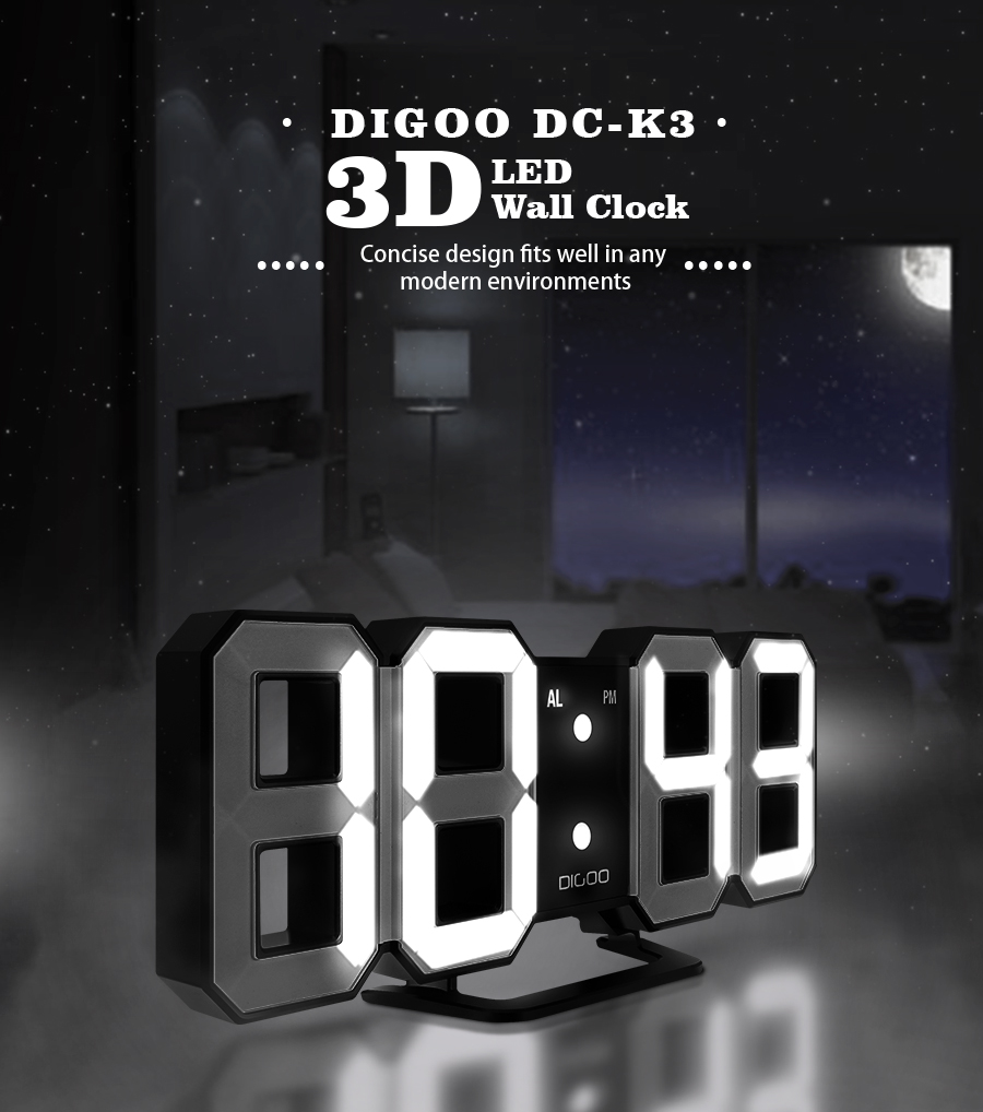 Digoo dc k3 multi function large 3d led digital wall clock alarm 1 x digoo dc k3 multi function large 3d led digital wall clock alarm clock 1 x digoo dc k3 1m usb cable 1 x digoo dc k3 full english manual amipublicfo Images
