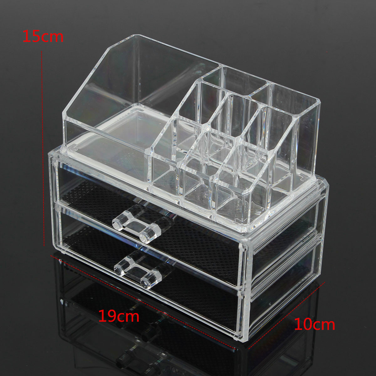 Design Cosmetic Organizer acrylic makeup organizer lipstick display stand holder cosmetic 1 x without cosmetic