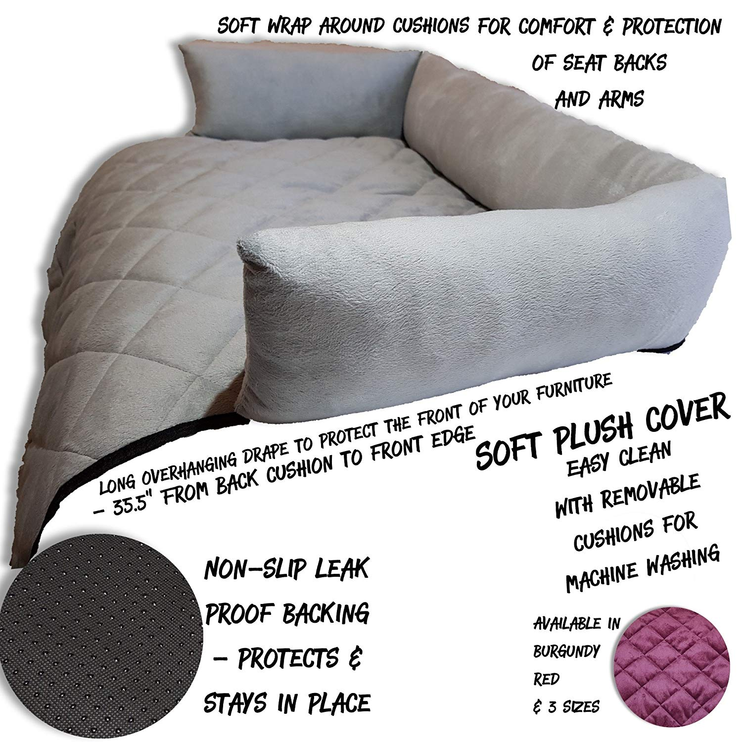 Water Resistant Pet Furniture Protector