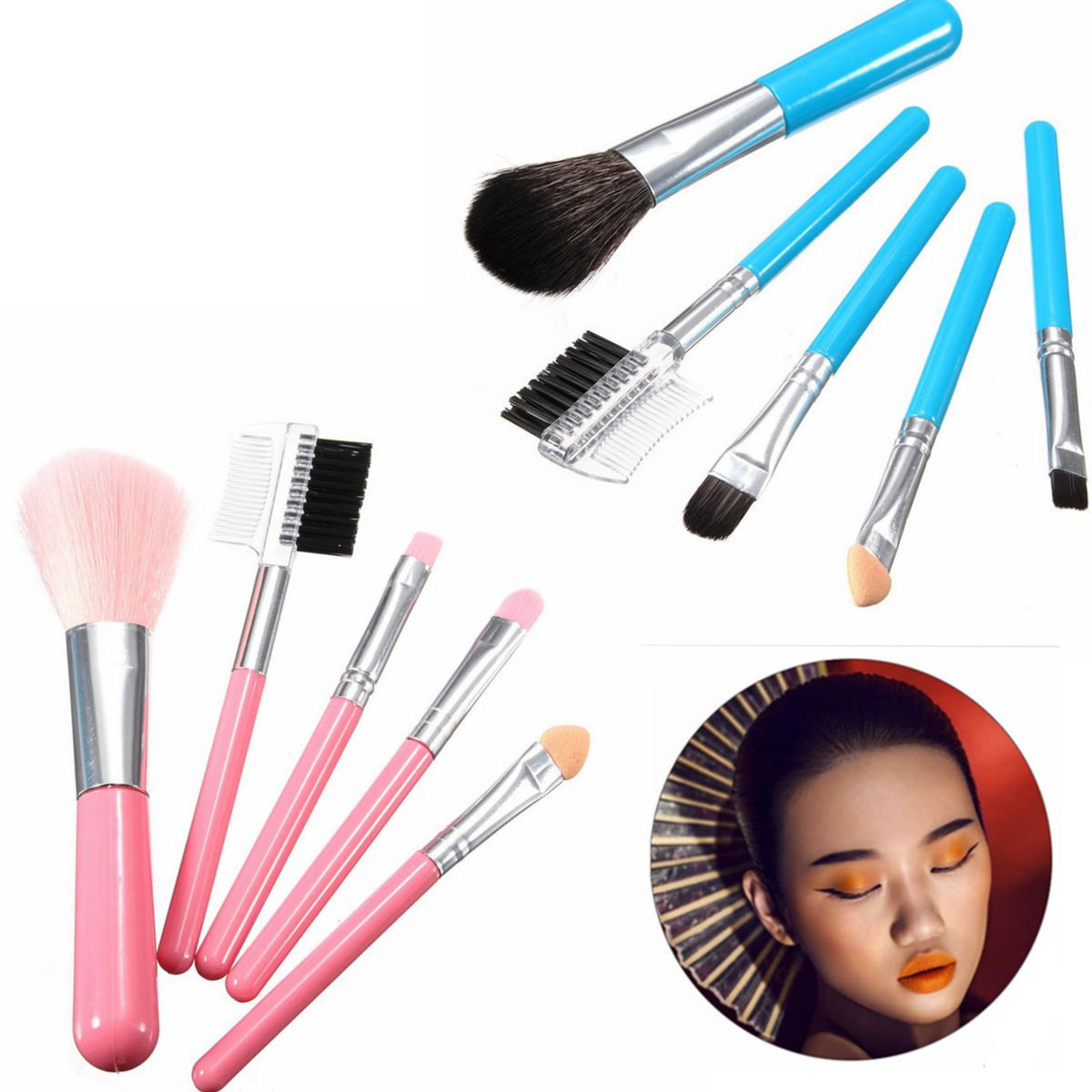 Makeup Brush Set How To Use In Hindi