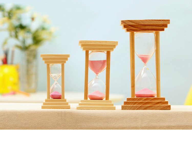 5 10 15 minutes sandglass kitchen timer hourglass craft for Home decor 5 minute crafts