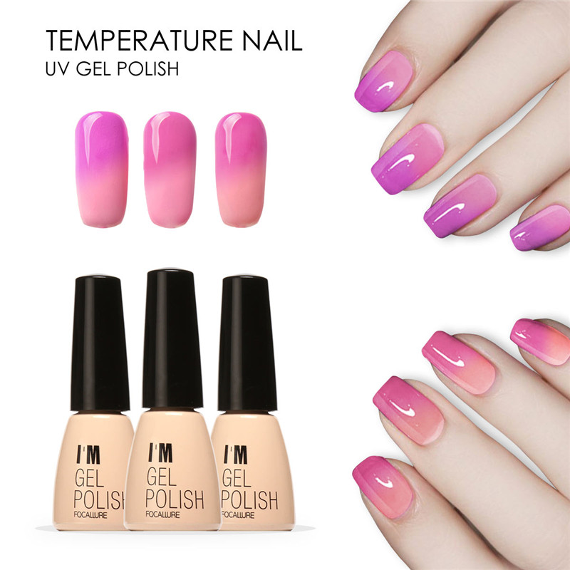 Focallure Soak Off Uv Led Temperature Color Changing Gel Nail Polish Art Varnish 30 Colors 7ml Online Newchic